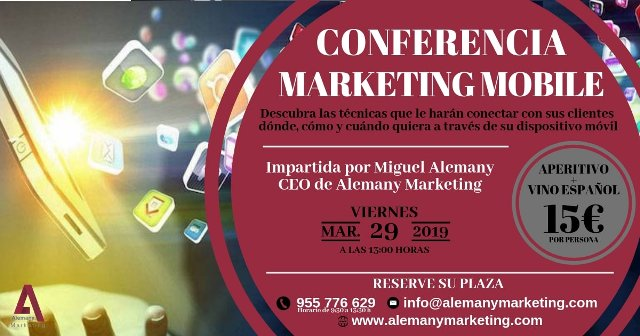 Evento Conferencia Mkt Mobile